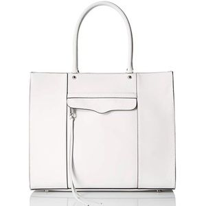 Rebecca Minkoff White MAB Tote Bag Large